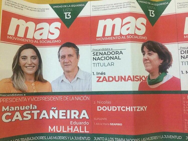 El MAS llevaba pañuelos verdes y los tuvo que cambiar