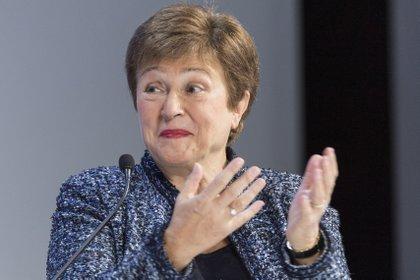 Kristalina Georgieva, directora gerente del Fondo Monetario Internacional (EFE /ALESSANDRO DELLA VALLE)