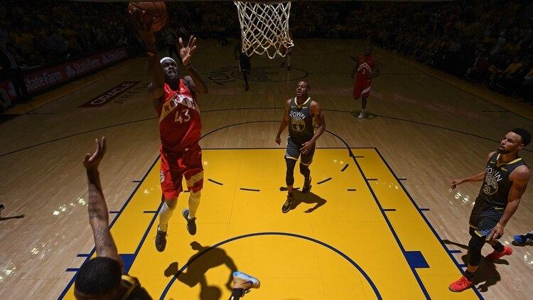 Toronto consiguió el primer título de su historia en NBA (AFP)