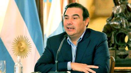 Gustavo Valdés, gobernador radical de Corrientes.