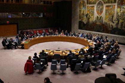 El Consejo de Seguridad de las Naciones Unidas se reúne por la situación en Siria el 28 de febrero de 2020 (REUTERS/Carlo Allegri/Foto de archivo)