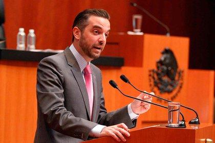 El exsenador panista Jorge Luis Lavalle fue citado por la FGR para comparecer sobre el caso Lozoya (Foto: Senado de México)