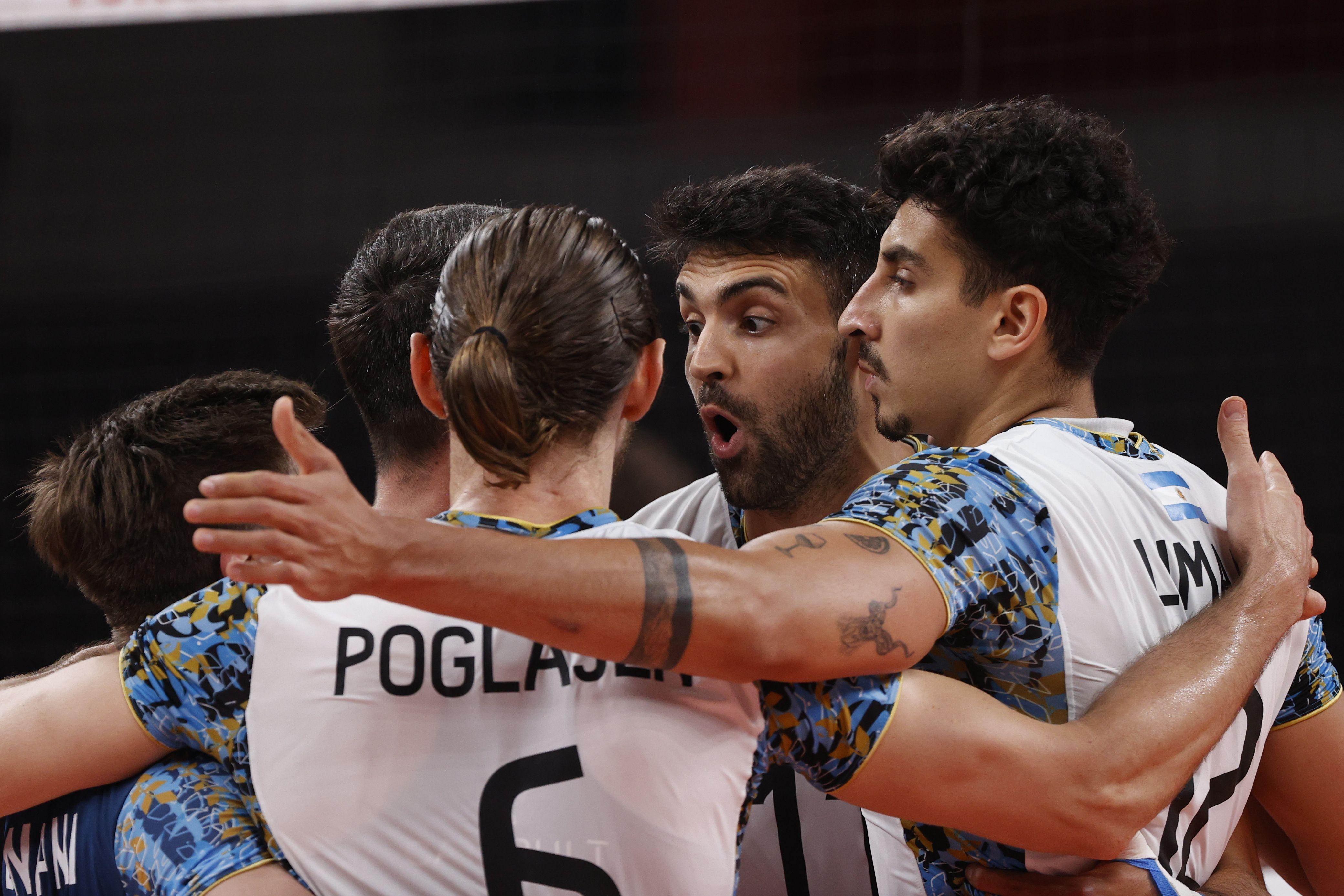 El vóley argentino buscará la segunda medalla en la historia de este deporte (Foto: Reuters)