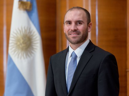 Martín Guzmán, ministro de Economía (Ministerio de Economía)