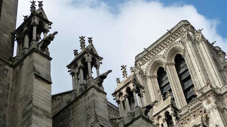 Las características gárgolas de Notre-Dame