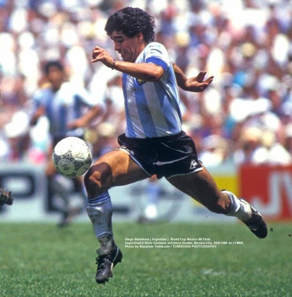 El astro argentino fue el máximo responsable del segundo título para la AFA