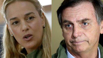 Lilian Tintori, Jair Bolsonaro