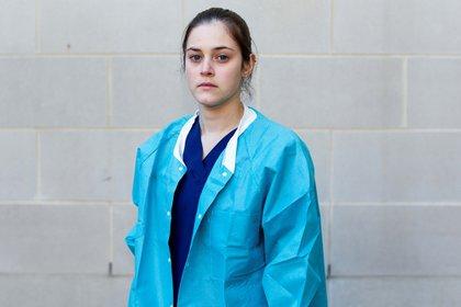 A pesar de todo, la enfermera de 25 años, Tiffany Fare tiene esperanzas (Foto: Reuters)