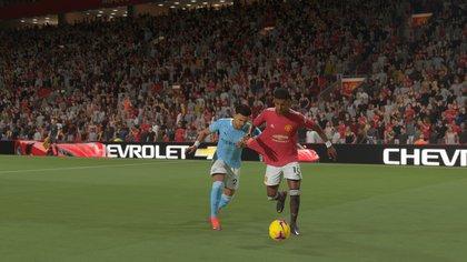 La lucha por la pelota adquiere nuevas dimensiones en FIFA 21 de nueva generación.