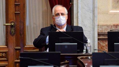 Jorge Taiana esta vez pudo sentarse en una banca