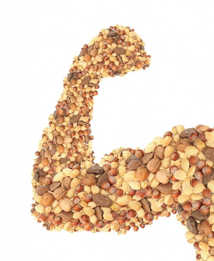 Los frutos secos aportan una buena cantidad de proteínas, pero también muchas calorías (iStock)