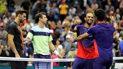 La alegría de Rober Farah y Juan Sebastián Cabal al ganar la final del US Open 2019