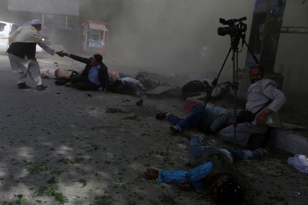 Muertos y herido en el segundo ataque suicida ocurrido este lunes en Kabul, dirigido a los periodistas (Reuters)