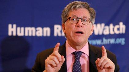 El director ejecutivo de Humans Rights Wach, José Miguel Vivanco (EFE/ Sáshenka Gutiérrez/Archivo)