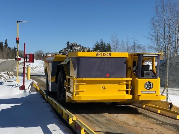En la mina Macassa, en Ontario (Canadá), se utilizan vehículos eléctricos para las operaciones diarias (Cortesía: Kirkland Lake Gold Ltd.)