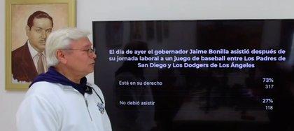 El gobernador de Baja California aseguró que asistió al partido luego de concluir sus responsabilidades como gobernador del estado (Foto: captura de pantalla / Fb@gobierno de Baja California)
