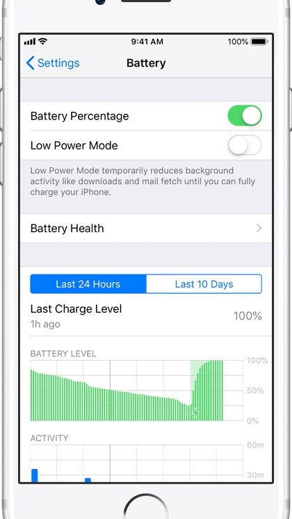 Se registraron problemas en el rendimiento de las baterías de los modelos más antiguos.