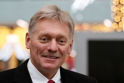 Foto de archivo del portavoz del Kremlin, Dmitry Peskov, en Moscú (REUTERS/Shamil Zhumatov)