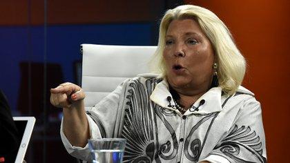 Gesto. Carrió pidió la inmediata designación del procurador Rafecas (Nicolás Stulberg)