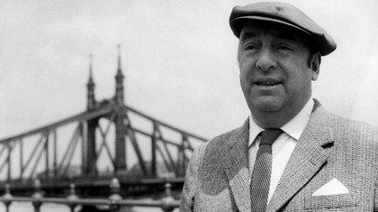El poeta Pablo Neruda, chileno ganador del premio Nobel, se ubicó segundo en el análisis de hashtags en Instagram, con más de 436.000. (EFE/MTI)
