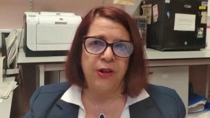 Marta Cohen, médica patóloga pediatra argentina en el Hospital de Niños de Sheffield.