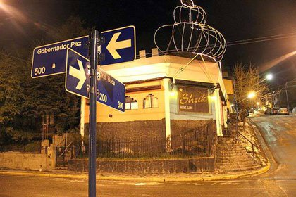 """El prostíbulo """"Sheik"""", en Ushuaia, clausurado en 2012"""