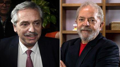 Alberto Fernánadez y Lula Da Silva