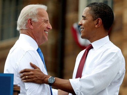 Barack Obama destacó la capacidad de Joe Biden para estar al frente de la Casa Blanca (REUTERS/Jim Young)