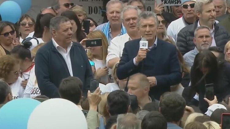 Mauricio Macri encabezó un acto de campaña en Entre Ríos