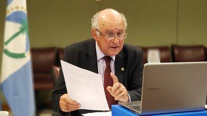 Oscar Parrilli, senador nacional y vocero de Cristina de Fernández en la Cámara alta
