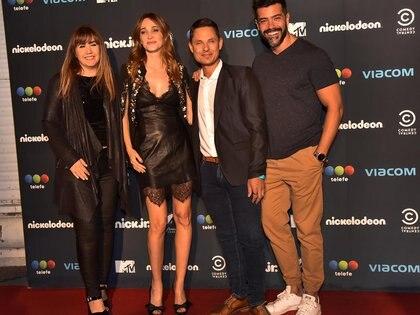 Paola Juárez, Vero Lozano, Lío Pecoraro y Diego Martínez