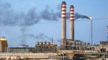 La refinería de Amuay