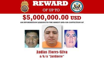 """CJNG: la DEA ofrece USD 5 millones por el """"Jardinero"""", el temible brazo derecho del """"Mencho"""""""