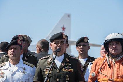 El ministro de Defensa de Venezuela, Vladimir Padrino López (MARCOS SALGADO / ZUMA PRESS / CONTACTOPHOTO)