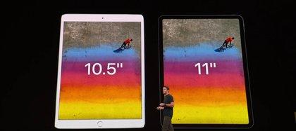 La versión más pequeña pasó de tener un display de 10,5″ a uno de 11″.