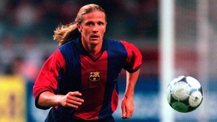 Emmanuel Petit vistió la camiseta del Barcelona en la temporada 2000-2001 (Shutterstock)