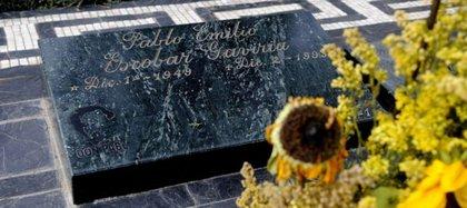 La tumba de Pablo Escobar Gaviria