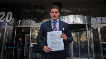 """""""Culpable de ir arriba en las encuestas"""": así respondió Samuel García a las acusaciones por fraudes electorales"""