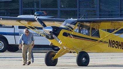 Harrison Ford posee varios aviones Husky