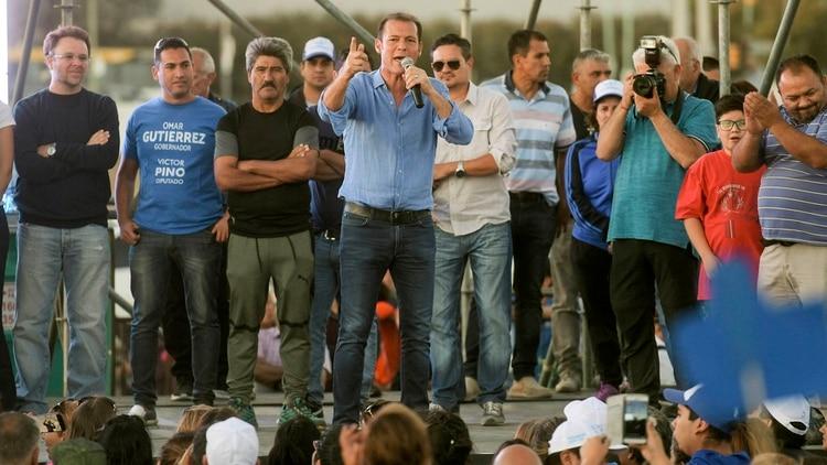El actual gobernador de Neuquén, Omar Gutiérrez
