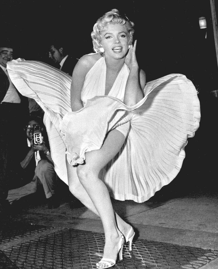 Marilyn tenía muy bien establecido su régimen de comidas