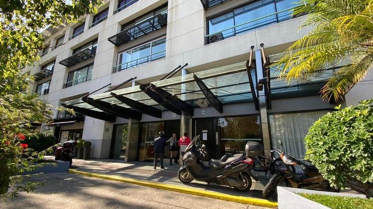 La empresa dice que tiene su sede en Alicia Moreau de Justo 1150 (Lihueel Althabe)