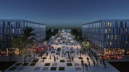 Según el proyecto oficial, además de viviendas también se construirán oficinas y comercios