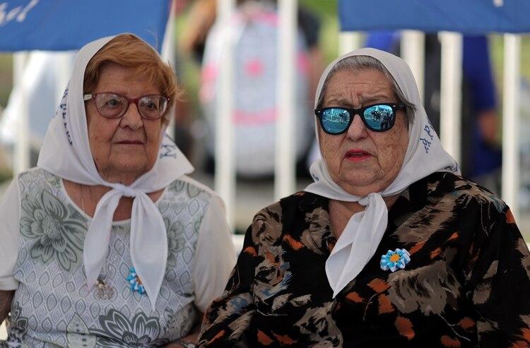 Hebe de Bonafini expresó su malestar por una frase de Alberto Fernández (Reuters/Agustin Marcarian)