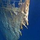 El Titanic, parcialmente devorado por bacterias, se ubica en el fondo del Océano Atlántico, a unas 400 millas de la costa de Newfoundland, Canadá Foto: Captura de pantalla. Reuters.