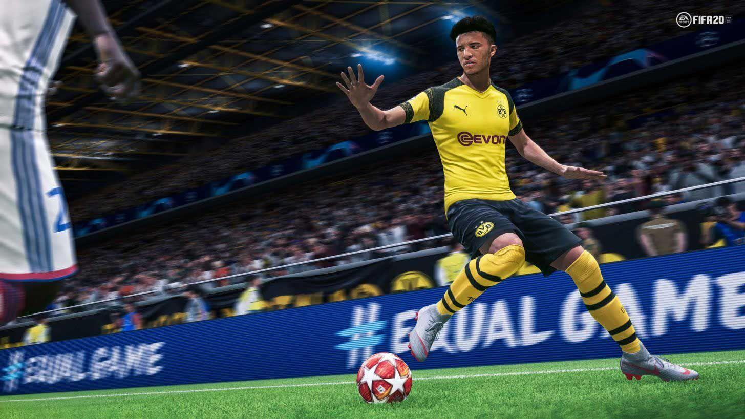 El juvenil inglés del Borussia Dortmund alemán, Jadon Sacho, es uno de las jóvenes promesas integradas en la pre-selección del TOTY de FIFA 20.