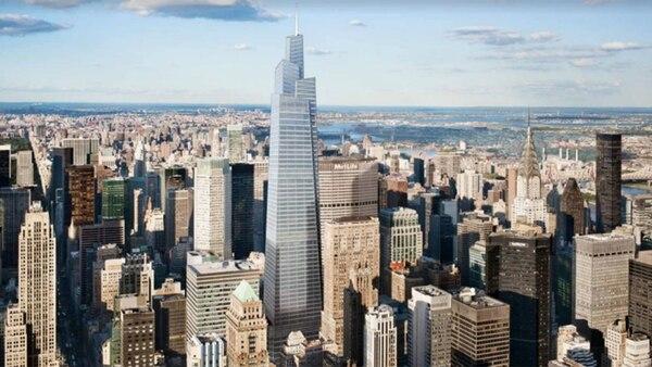 Tendrá 58 pisos, una fachada de vidrio
