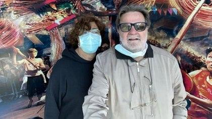 Eduardo Ferraresi y su esposa Diana deberán pasar dos semanas en cuarentena en su domicilio