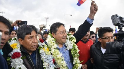The former Minister of Economy, Luis Arce, will seek to lead the Movimiento al Socialismo (MAS) back to the Palacio del Quemado, the seat of government in La Paz.  Photo: DEF file.