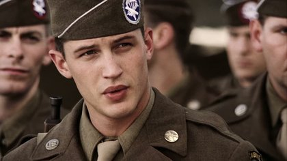 Tom Hardy en Band of Brothers